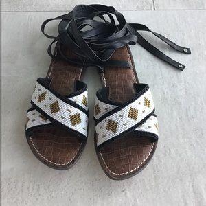Sam Edelman's Beaded Sandals